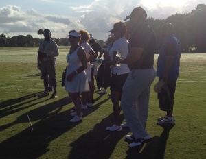 Black Enterprise Golf and Tennis Challenge, Day 2: Attendees Learn Basics at Golf Academy
