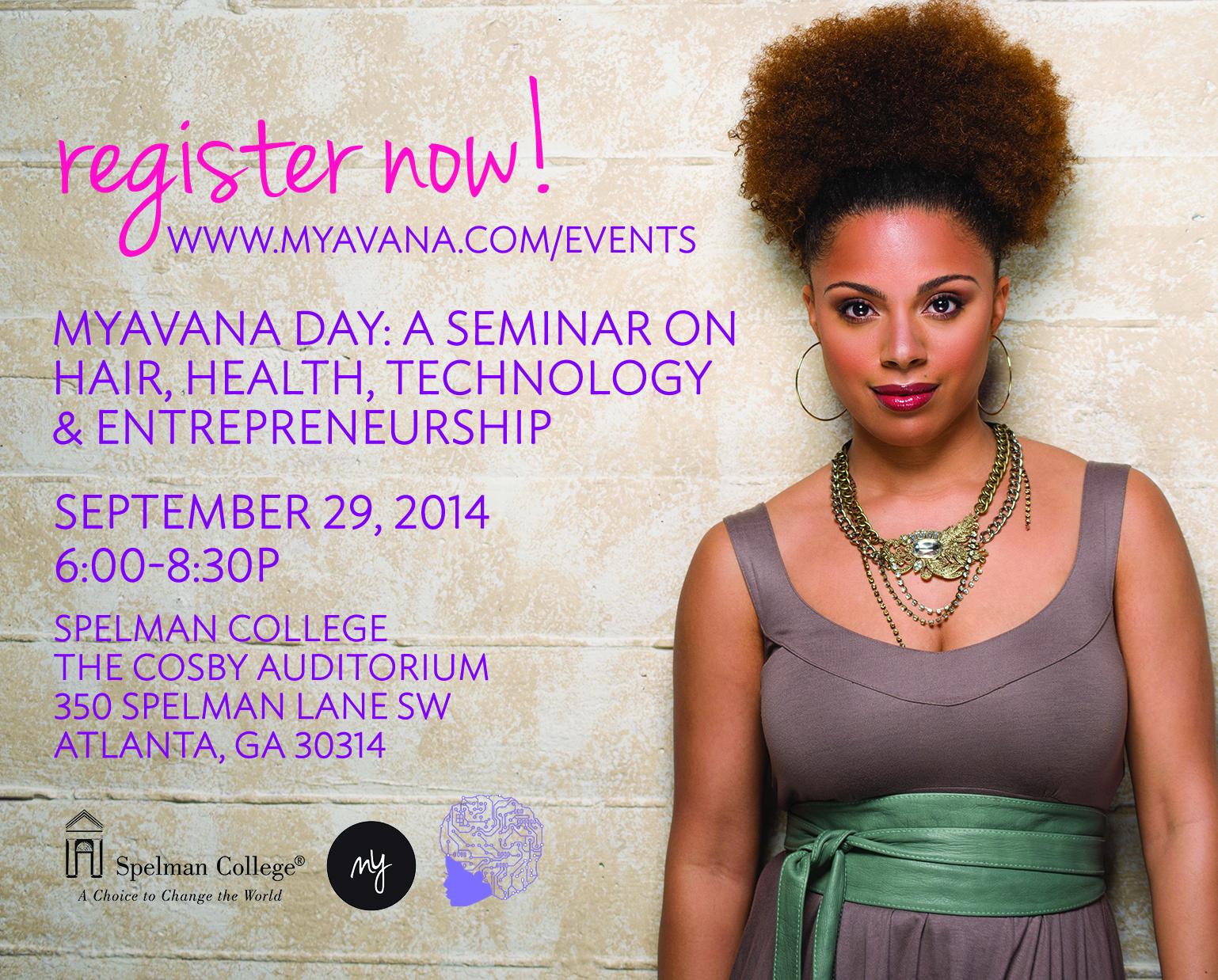 Myavana Day at Spelman College