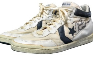 Michael Jordan's 194 Summer Olympics Converse being auctioned