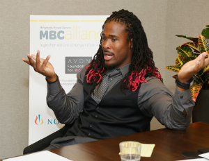 Breast Cancer Awareness Month: Q & A With Carolina Panthers' DeAngelo Williams