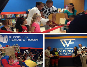 Russell Westbrook Launches New Initiative to Promote Childhood Literacy
