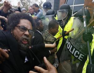 Cornel West, 49 Others, Arrested At Ferguson Protest