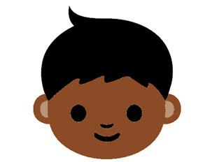 black-emoji-smile-face-unicode
