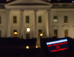 Net neutrality protest washington