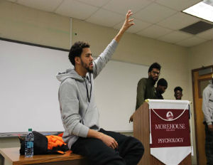 J. Cole Talks Life and Carer with Morehouse College Students