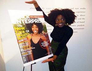 My Fab Finance's Tonya Rapley Celebrates Black Enterprise Cover