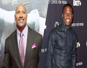 Dwayne 'The Rock' Johnson and Kevin Hart to Star in 'Central Intelligence'
