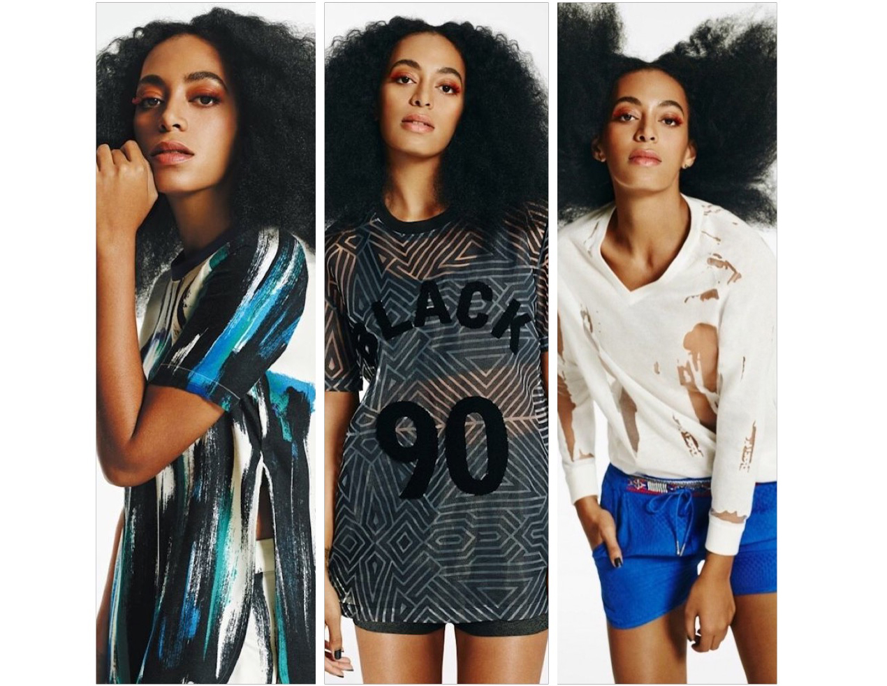Solange Made New Face of Eleven Paris