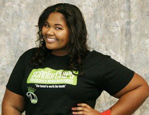 Yasmine Arrington Awards ScholarCHIPS to Youth of Incarcerated Parents
