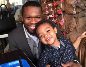 50 Cent's Two-Year-Old Son Snags $700,000 Modeling Deal