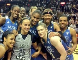 Women Raise The NBA Roof