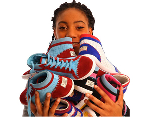Mo'Ne Davis Launches Sneaker Line to Help Girls in Poverty