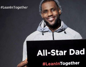 NBA Teams Up with 'Lean In Together' for Gender Equality