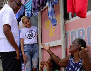 Beyonce Visits Haiti to See Post-Earthquake Progress