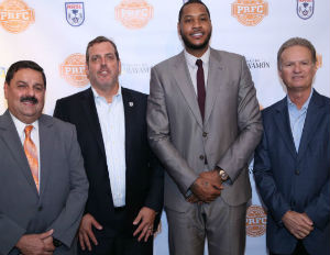 [WATCH] Carmelo Anthony Acquires Soccer Team In Puerto Rico