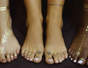 Rihanna Launches Collection of Temporary Tattoos
