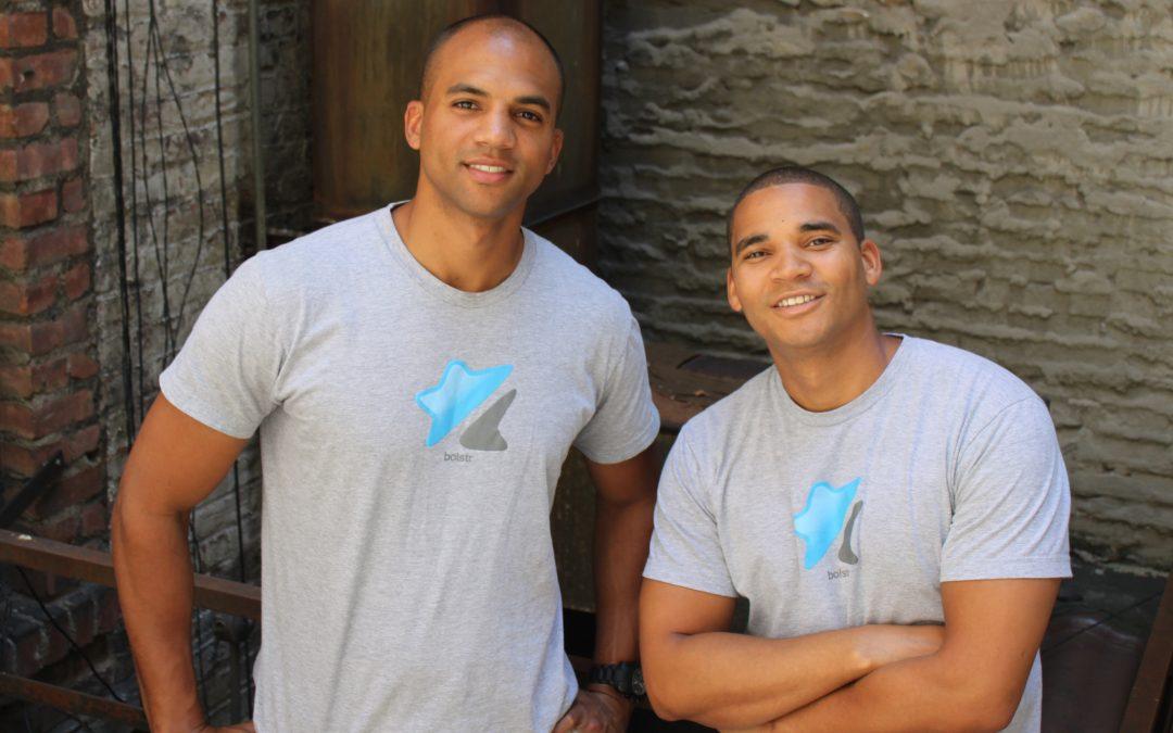 BE Modern Man: Meet Bolstr Co-Founders Larry Baker and Charlie Tribbett