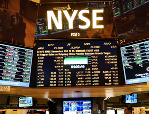 Dow Hits 5-Month Low On Day NYSE Trading Stops