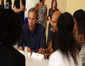 Starbucks CEO Howard Schultz, Rapper Common, and Chicago Mayor Rahm Emanuel on the Effects of Youth Unemployment