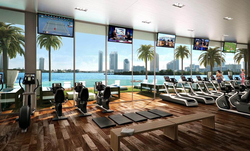 6 Luxury Hotel Gyms Around the World