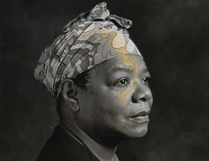 Maya Angelou's Art Collection Up For Auction in New York City