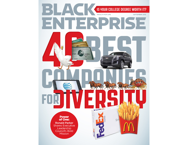 [September 2015] 40 Best Companies For Diversity