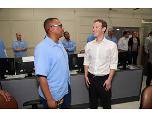 Zuckerberg Posts about Racial Injustice in Prison System