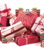 Photo of a pile of gift-wrapped boxes
