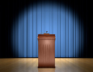 The GOP Has a Problem With … Empty Podiums