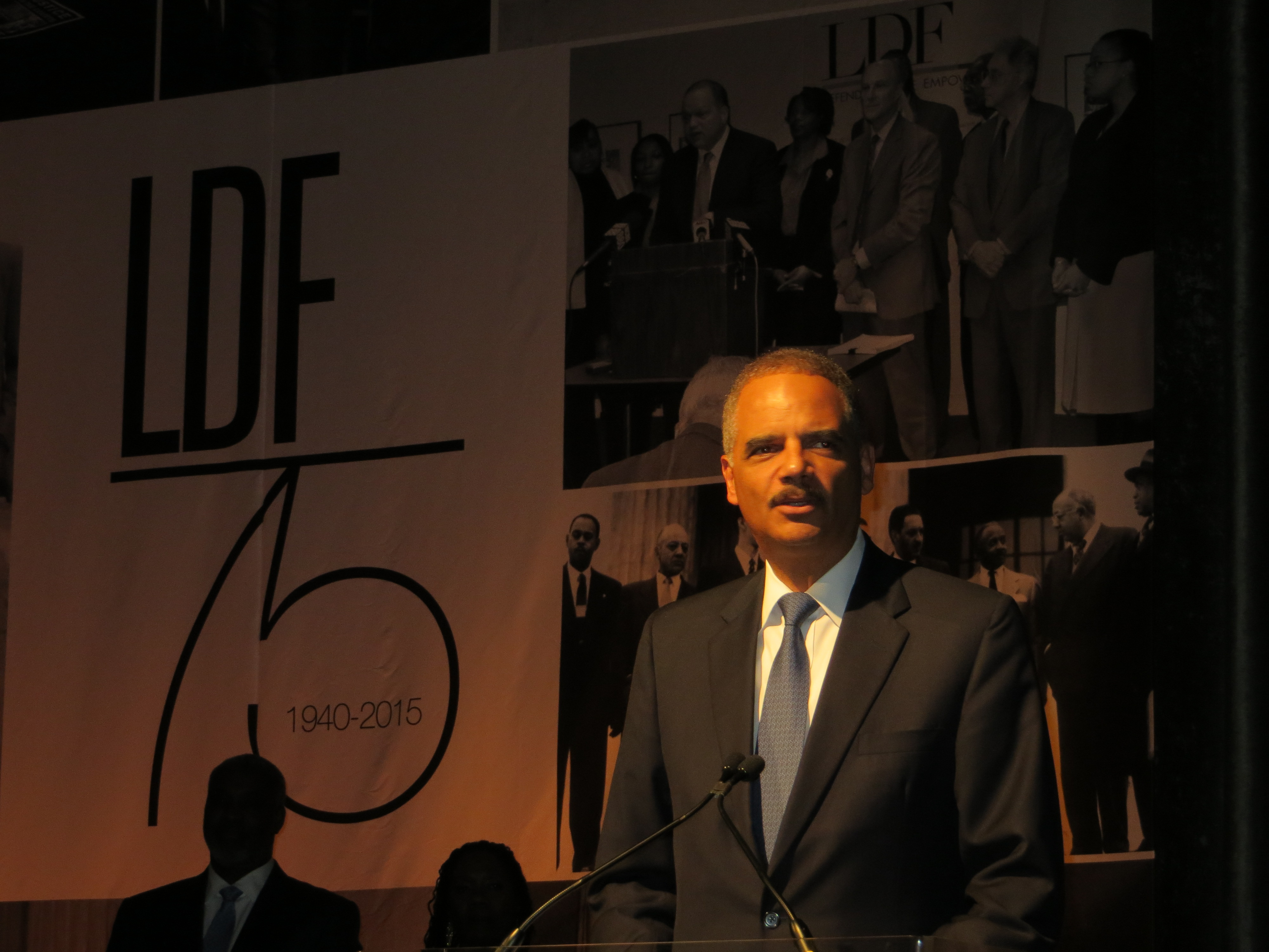 Eric Holder Honored at NAACP Legal Defense Fund 75th Anniversary Gala