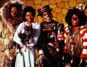 Lead cast of the 1978 movie The Wiz