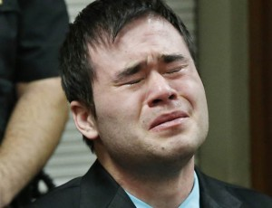 Daniel Holtzclaw cries during his sentencing