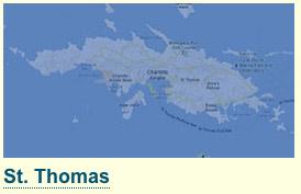 map image of St. Thomas