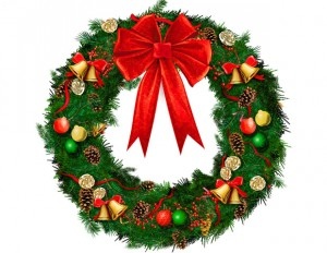 Image of a Christmas wreath