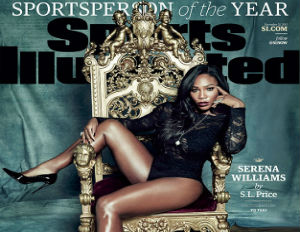 Serena Williams Is Sports Illustrated's 2015 Sportsperson of the Year