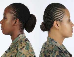 Marine Corps Authorizes Lock and Twist Hairstyles For Women