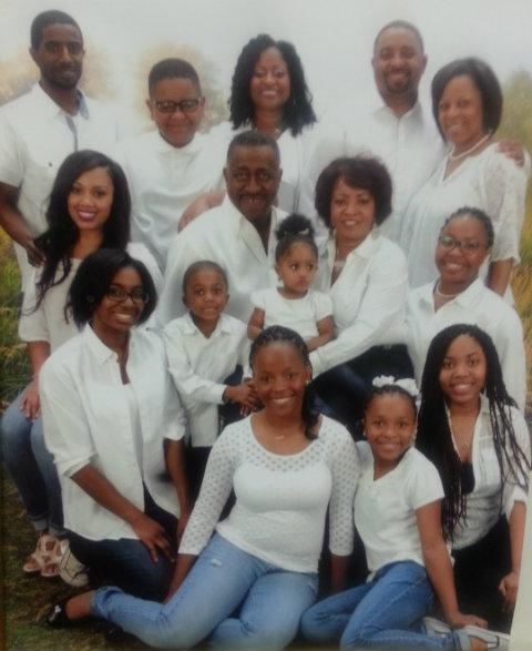 Greg Calhoun and family