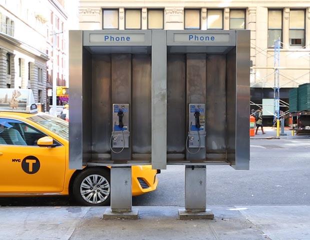 New York City pay phone