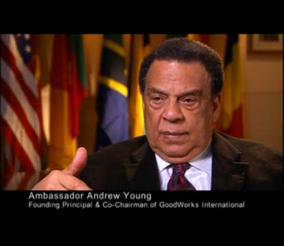 OurWorld_Andrew Young_MLK 40th Anniv