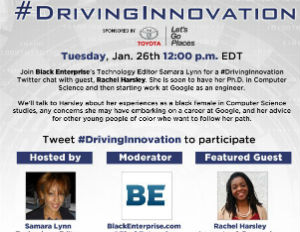 [RECAP] #DrivingInnovation Twitter Chat with Rachel Harsley