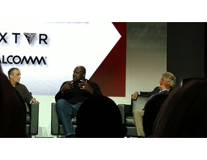 Shaquille O'Neal sports and tech panel at CES 2016