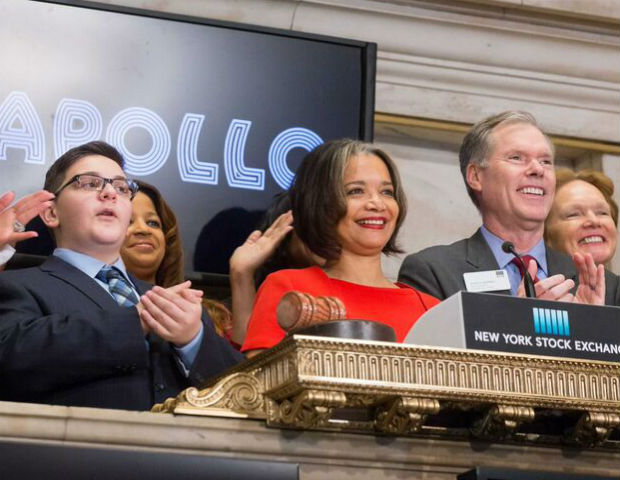 [WATCH] Apollo Rings NYSE Opening Bell For Its 82nd Anniversary