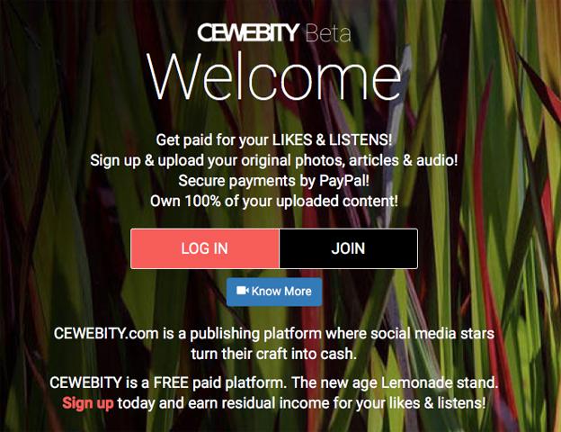 Cewebity home page hero-beta