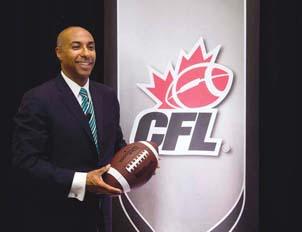 Jeffrey Orridge, Canadian Football League-commissioner