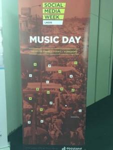 #SMW Lagos, Music Day session
