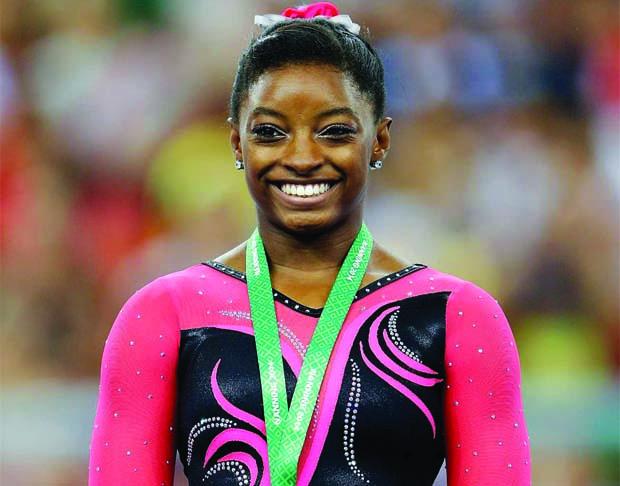 Black History Month: Simone Biles, Gymnast