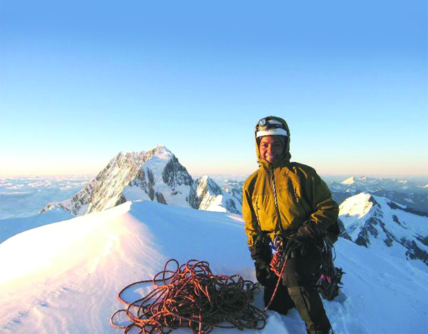 Sophia Danenberg, mountain climber