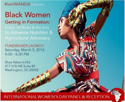 """Join Black Women """"Getting in Formation"""" to Advance Nutrition and Agriculture for International Women's Day"""