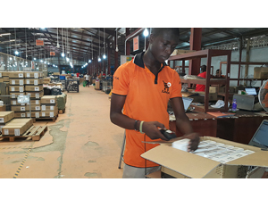 Jumia worker