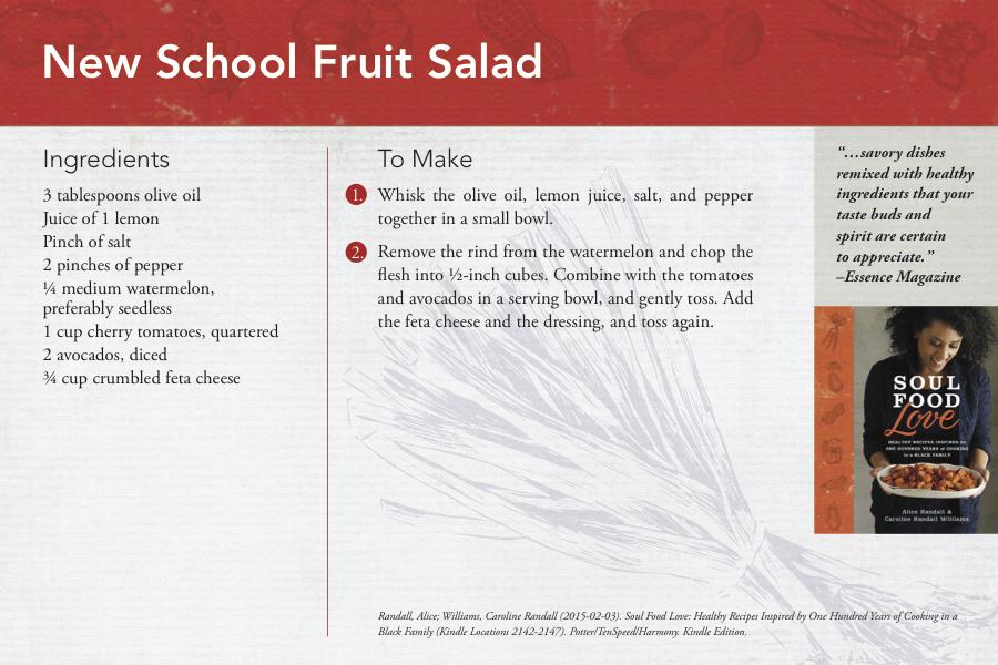 New School Fruit Salad